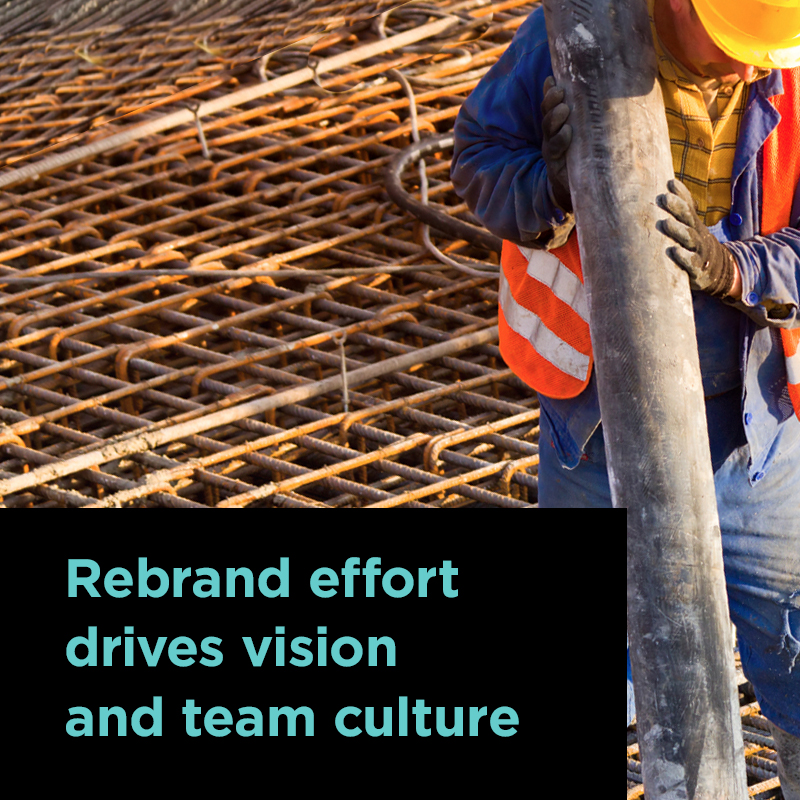 rebrand drives renewed vision and team culture