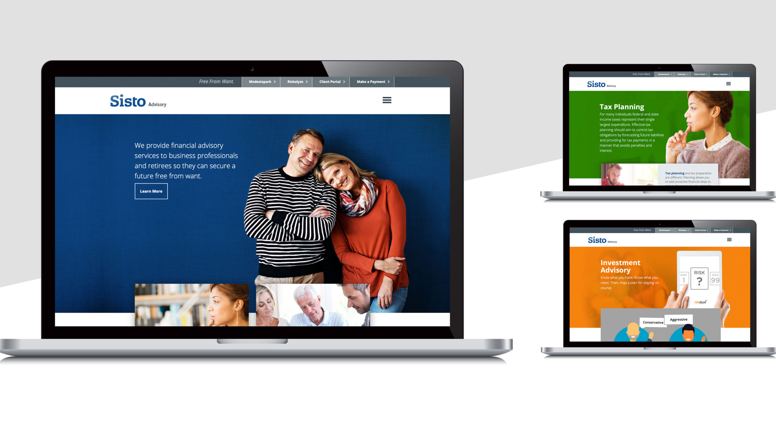 Sisto website